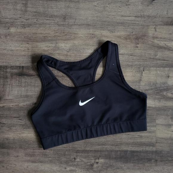 Nike Intimates Sleepwear Dri Fit Black Sports Bra Poshmark